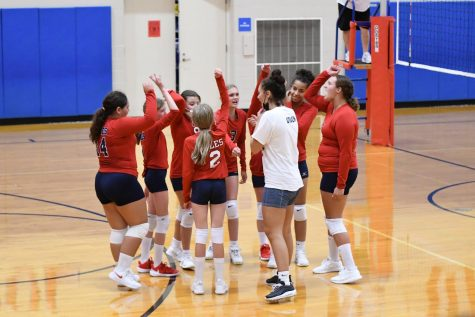 Seventh grade volleyball team